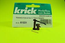 Wasserpumpe einfach H18mm Metall   Best.-Nr. 61031 von Krick/Günther Modellsport