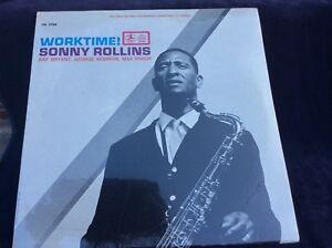 "Sonny Rollins ""Worktime!"" Jazz LP Prestige 7750 New In Shrink"