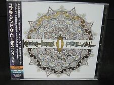 KOBRA AND THE LOTUS Prevail I + 1 JAPAN CD Unleash The Archers Shadowblade