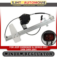 New Window Regulator W/ Motor For Jeep Grand Cherokee WG WJ 1999-2000 Front Left