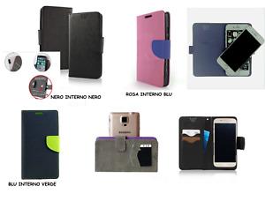 Custodia UNIVERSALE x BRONDI AMICO Senior Smartphone Dual sim Cover LIBRO STAND