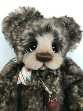 "OOAK Mohair Artist Bear by Donna Hager for Hager Bears ""Carson"" 11 inches"