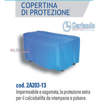 GARLANDO - COPERTURA TELO PROTEZIONE CALCIOBALILLA BILIARDINO BLU IMPERMEABILE