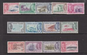 CAYMAN ISLANDS 1950 KGVI DEFINITIVE SET MINT HINGED