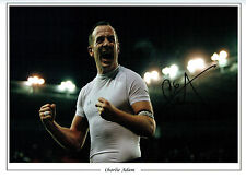 Charlie ADAM Signed Autograph 16x12 Massive Photo AFTAL COA