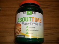 SDC Nutrition - About Time Protein Pancake Mix, Chocolate Chip, 1.5 Pounds