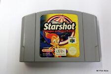 STARSHOT Panique Au Space Circus Infogrames Nintendo 64 N64 PAL Retrogame