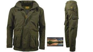 Mens Waterproof Stealth Jacket Trousers Hunting Fishing Walking