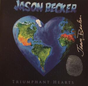 SIGNED by Jason Becker Music CD TRIUMPHANT HEARTS