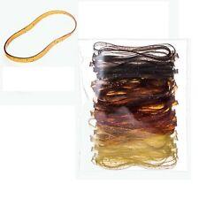 Hair tie Ponytail Holder Elastic Hair Rubber Band 70pc Polyurethane MI Korea mix