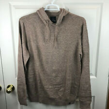 New NWT Men's Prana Kaola Hooded Sweater Pullover Heather Size Large
