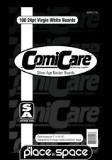 100 x CURRENT / SILVER SIZE AGE COMIC BACKING BOARDS (COMICARE) (SUPPLY116)