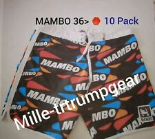 Mens MAMBO 36  Mens Size 36 Male 10-Pack