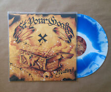 "SET YOUR GOALS MUTINY LP 12"" FIRST PRESSING! BLUE & WHITE /100 (oop h2o bane nfg"