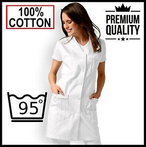 Jacket scrub Top Tunic Dentist Heathcare Hospital Medical Nurse Carer Doctor