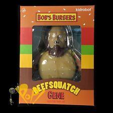 Bob's Burgers BEEFSQUATCH GENE Medium Vinyl Figure kidrobot BEAUTIFUL PLASTIC!