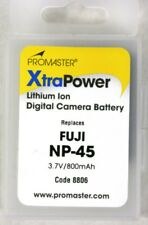 ProMaster NP-45 XtraPower Lithium-Ion Battery - for FUJI 3.7V/800mAh #8806 NEW