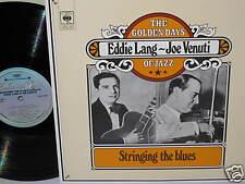JOE VENUTI & LANG-Stringing the Blues~CBS 24 [M] 2 lp's