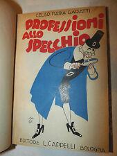 Storia Mestieri Italia - Garatti: Professioni allo Specchio 1941 Cappelli 1a ed.
