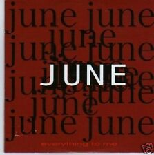 (743N) June, Everything To Me - 0000 CD
