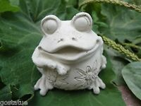 Latex frog mold plaster concrete casting garden mould
