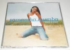 SAMANTHA MUMBA - BODY II BODY - DELETED 2000 UK CD SINGLE