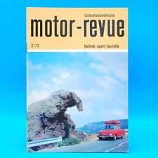 DDR Motor-Revue 2-1973  (tschechoslowakische) Skoda Jawa CZ Tatra