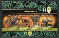 DJIBOUTI  2016 ELEPHANTS SHEET MINT NH