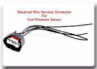 Wire Harness Pigtail Connector of Fuel Pressure Sensor Fits Ford Mercury Lincoln