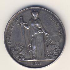 Frankreich Medaille Napoleon CHAMBRE DE COMMERCE LILLE A. Borell