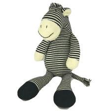"""Pier 1 Imports Zebra Plush Tilly Sweater Knit Sock Stuffed Soft Toy Lovey 20"""""""
