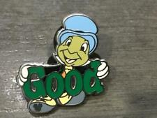 Jiminy Cricket Good Series Completer Disney Wdw Authentc Park Pin Hidden Mickey