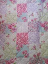 Double patchwork bedspread