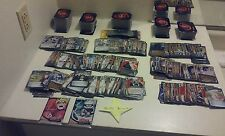 70 NARUTO CARDS ASSORTED LOT DECK WITH FOIL & RARES! TWO BOOSTER PACKS NO headba