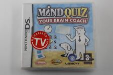 NINTENDO DS NDS MIND QUIZ YOUR BRAIN COACH PRECINTADO PAL ESPAÑA
