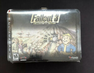 Fallout 3 Collectors Edition Lunchbox (PlayStation 3) Brand New