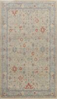 7'x10' Geometric Ziegler Turkish Traditional Oriental Area Rug Beige Wool Carpet