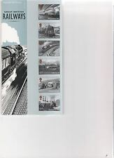 2010  ROYAL MAIL PRESENTATION PACK GREAT BRITISH RAILWAYS MINT DECIMAL STAMPS