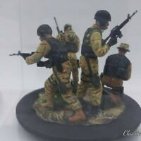 1/35 Scale Built Painted Detailed US Delta Force somalia 1993 Figures