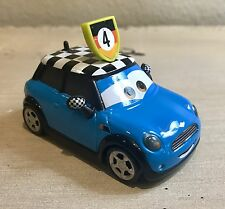 Disney Cars 2 WGP Fan, Rare Diecast Mini Cooper Unreleased!!!