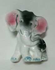 Vintage Ceramic Elephant Figurine In Very Fine Condition 3.5 In Tall