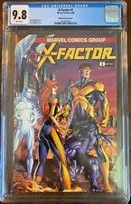 X-Factor #1 2020 CGC 9.8 Scott Williams Variant Set - Uncanny X-Men #268 Homage