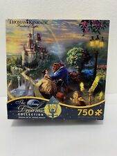 Disney Thomas Kinkade 750 pc Puzzle Beauty and the Beast *Dreams Collection*