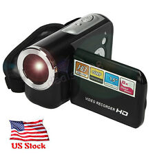 "1.5"" TPT LCD 8X Digital Zoom Video Camcorder 16MP Full HD 1080P DV Camera Kit US"