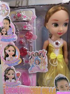 Lelia Puppen Spielsets , Prinzessinnen Puppen  36cm,