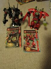 Lego Exo-Force Humans Grand Titan (7701) and Thunder Fury 7702