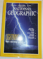 National Geographic Magazine Lightning & Siberia's Tigers July 1993 121314R2