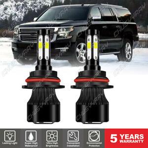 For Chevrolet Caprice 1991-1996 6000K 2X Front LED Headlight Bulbs High-Low Beam