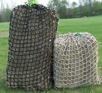 "Heavy Duty 1-3/4"" Mesh Hay Nets- No Knots netting by Hay Burners Equine LLC"