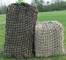 "Heavy Duty 1-3/4"" Mesh Hay Nets- No Knots netting by Hay Burners Equine LLC"